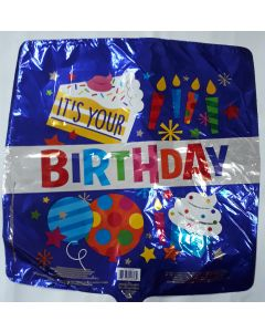 REVANADA BIRTHDAY AZUL 18""