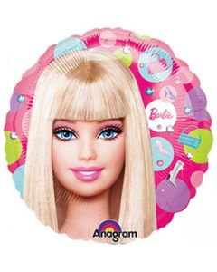 Globo metalico #9 barbie
