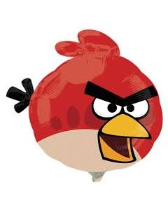 Globo Metalico Mini Shape Angry Birds 14""