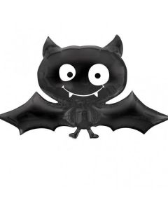 Globo Metalico Supershape Halloween Murcielago 36""