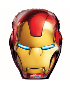 globo metalico #18 iron man