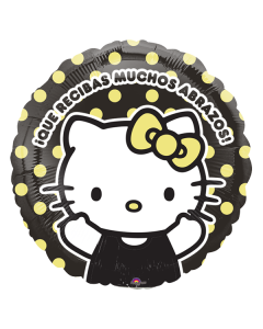 Globo metalico#9 hello kitty abrazos