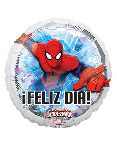Globo metalico#9 spiderman