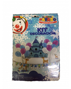 globo payaso kit decoracion copitos