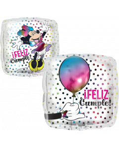 Globo Metalico #18 Minnie Cumple