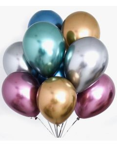 Globo Latex Chrome para Fiesta