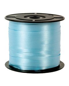 Liston Curling Liso 100 m Sedacolors Color Azul Cielo