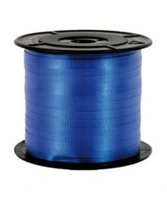 Liston Curling Liso 100 m Sedacolors Color Azul Rey