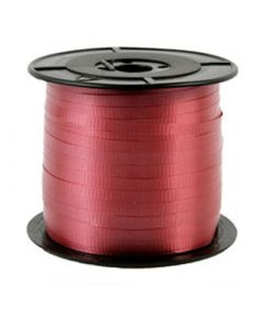 Liston Curling Liso 100 m Sedacolors Color Rojo